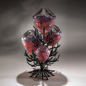 David Schwarz glass sculpture