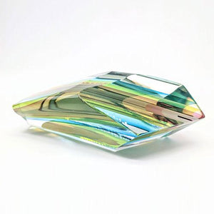Harvey Littleton glass sculpture
