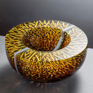 Tomas Hlavicka glass art at Habatat Galleries Florida
