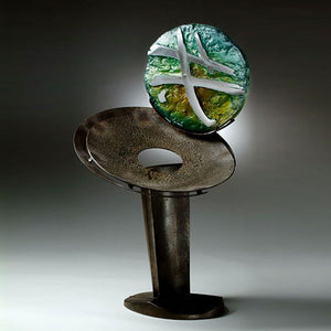 Herb Babcock glass art available at Habatat Galleries, FL