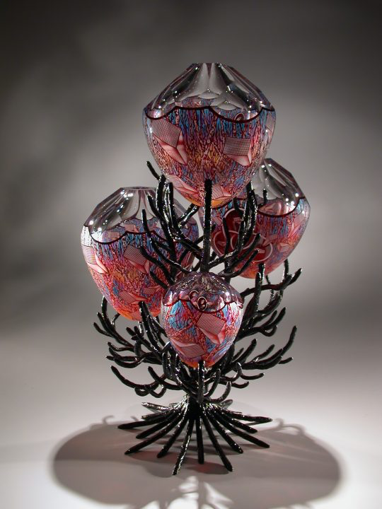 Glass art by David Schwarz