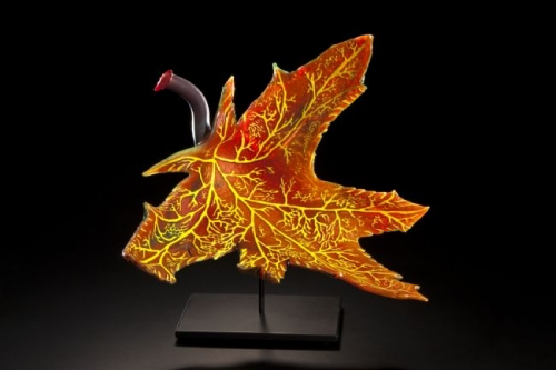 glass art by Randy Walker