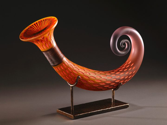 Jose Chardiet glass art