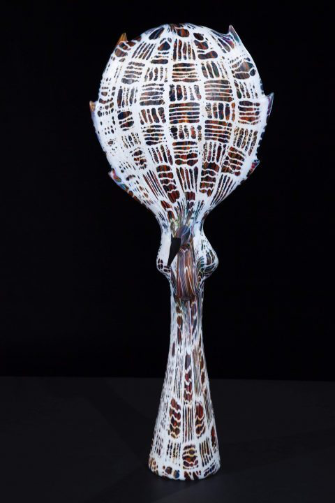 glass sculpture by artist Karen Willenbrink-Johnsen