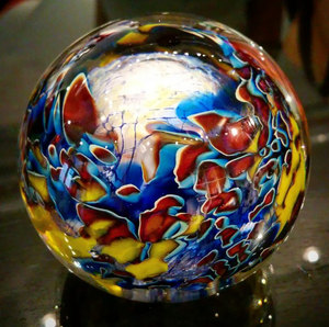 glass sculpture by Robert Palusky