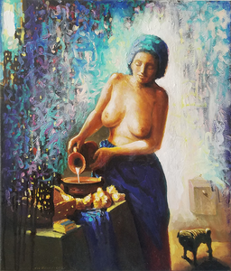 Noi Volkov oil painting