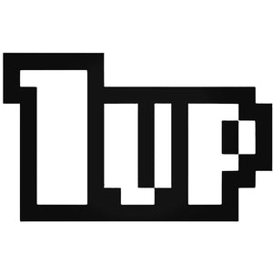 """1UP"" DECAL - 7EIGHTY AUTO"