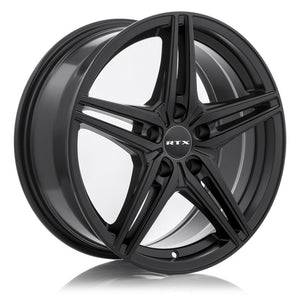 RTX BERN - SATIN BLACK- The Bern wheel is a perfect choice for winter on a very large selection of cars, vans and SUVs. With a durable satin black finish, a simple five double spoke design that is easy to clean and maintain - 7EIGHTY AUTO