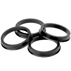 HUB CENTERING RING 73/66.06MM (SET OF 4) - 7EIGHTY AUTO