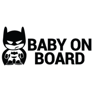 BABY ON BOARD - VINYL DECAL - 7EIGHTY AUTO