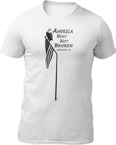 America: Bent Not Broken Unisex Short-Sleeve T-Shirt