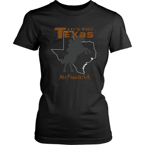 Let's Take Texas Women's Short-Sleeve T-Shirt
