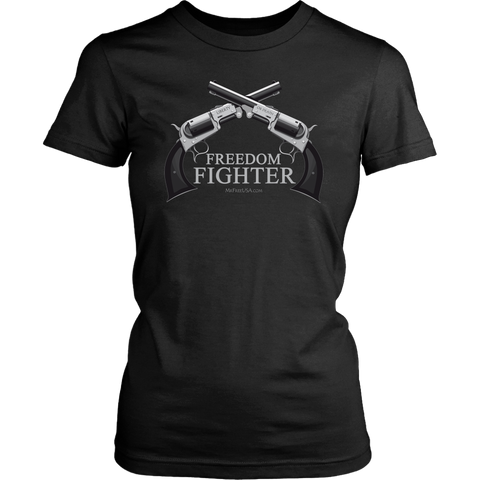 Freedom Fighter Women's Crew Neck T-Shirt