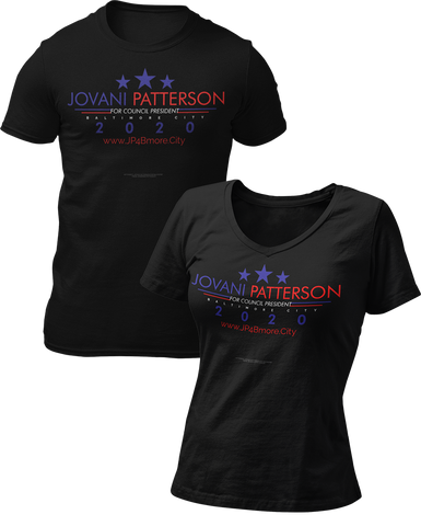 Jovani Patterson Official T-Shirt Campaign by MrFreeUSA