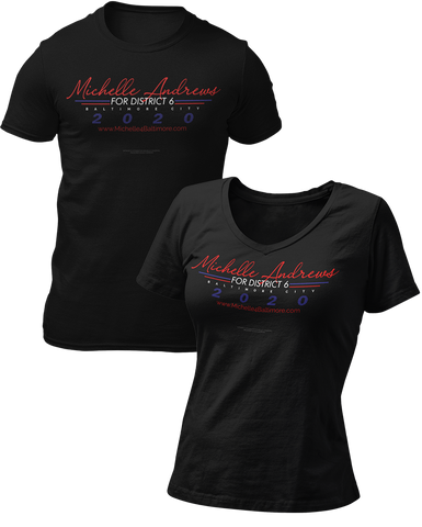 Michelle Andrews Official T-Shirt Campaign by MrFreeUSA
