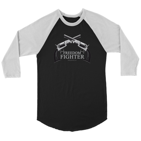 Freedom Fighter Unisex 3/4 Raglan