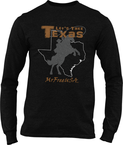 Let's Take Texas Men's Long-Sleeve T-Shirt