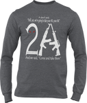 2A Unisex Long-Sleeve T-Shirt
