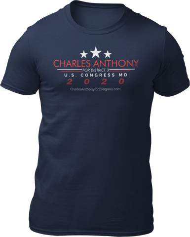 Charles Anthony Short-Sleeve Unisex T-Shirt Campaign