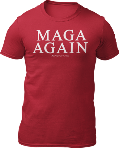 MAGA AGAIN Unisex Short-Sleeve T-Shirt