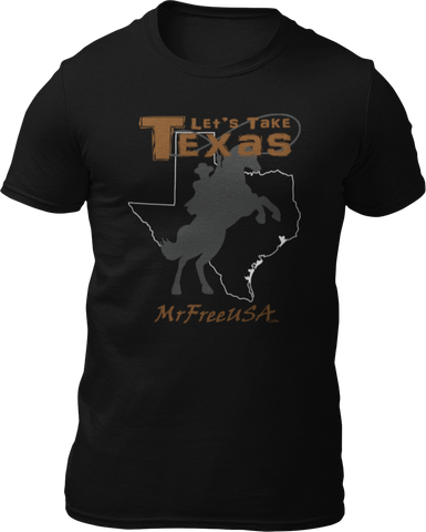 Let's Take Texas Unisex Short-Sleeve T-Shirt