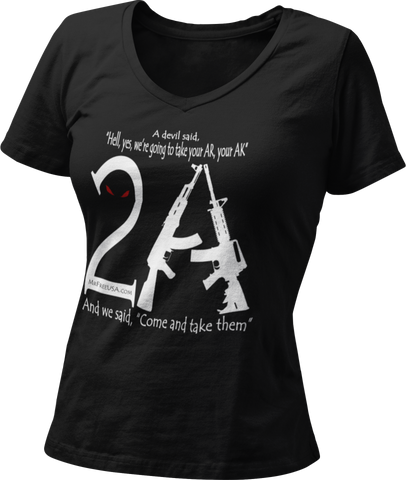 2A Women's V-Neck T-Shirt