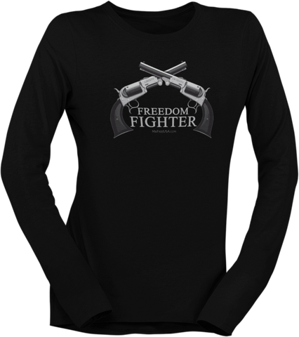 Freedom Fighter Women's Long-Sleeve T-Shirt