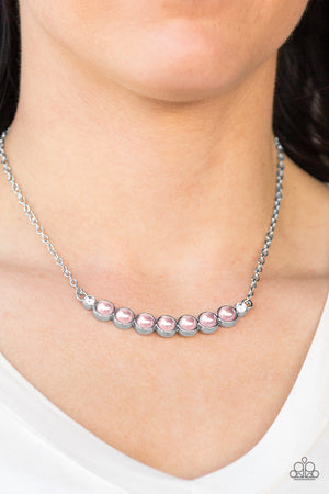 The Ruling Class Necklace - Pink