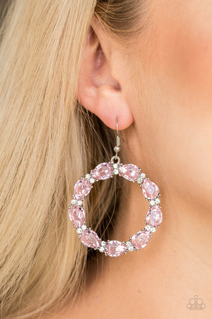 Ring Around The Rhinestones Earrings