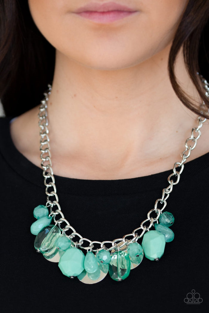 Treasure Shore Necklace - Green