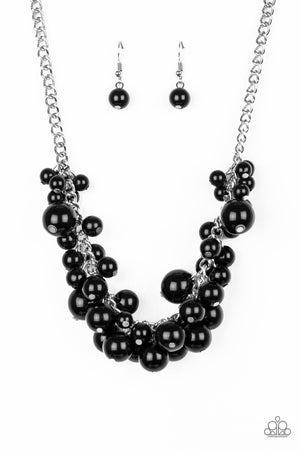 Glam Queen Necklace - Black