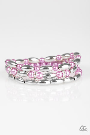 Chic Contender Bracelet - Purple