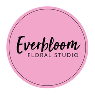 Logo Everbloom Floral Studio. Flowers, Gift boxes and hampers. Guaranteed same day delivery Tauranga, Mount Maunganui, Papamoa