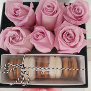 Load image into Gallery viewer, Roses and Macarons Gift Box