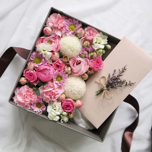 Floral Massage Gift Box