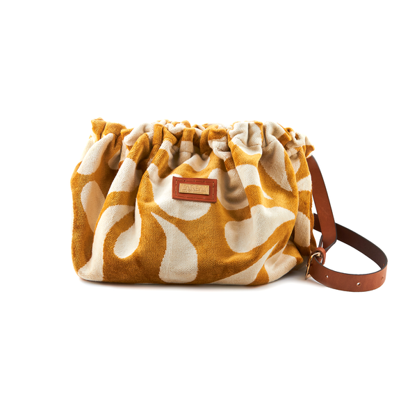 Oriana Bucket Bag #1 (Extra Large)  - Yellow & Cream - TARBAY