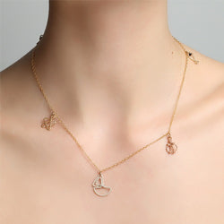 Marine Gold Necklace