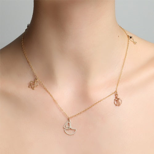Marine Gold Necklace - TARBAY