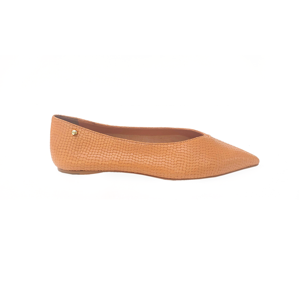 Grove Leather Flat Shoes - Viper Sweet - TARBAY