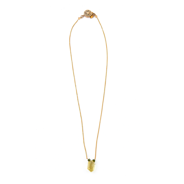 Lulu Necklace - Imperial Topaz - TARBAY