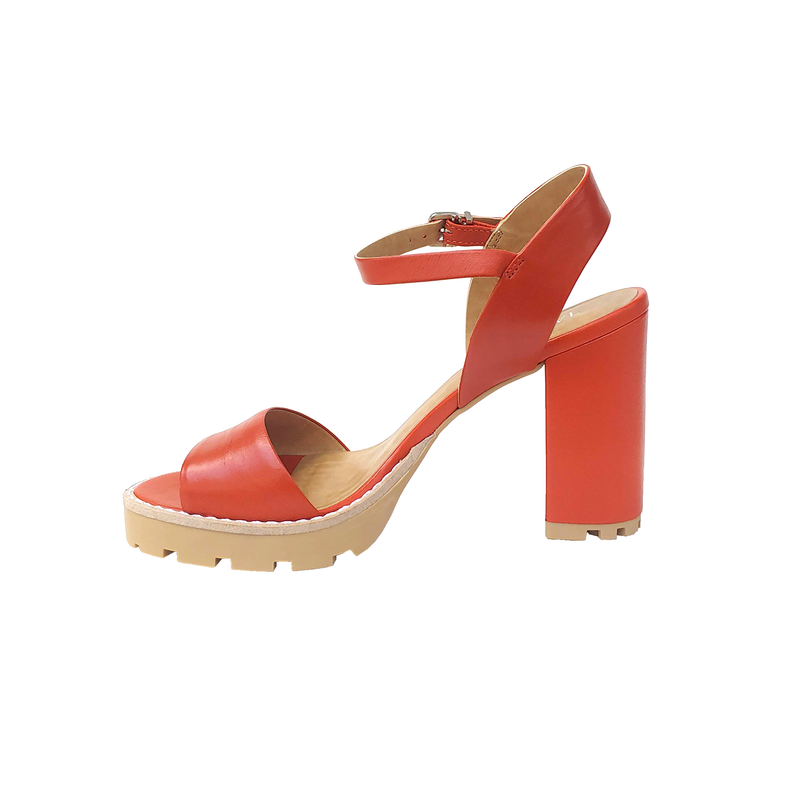 Guabina High Heel Sandals - Orange - TARBAY