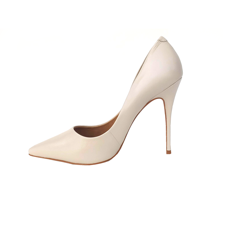 Lore Stilettos High Heel Shoes - Off White - TARBAY