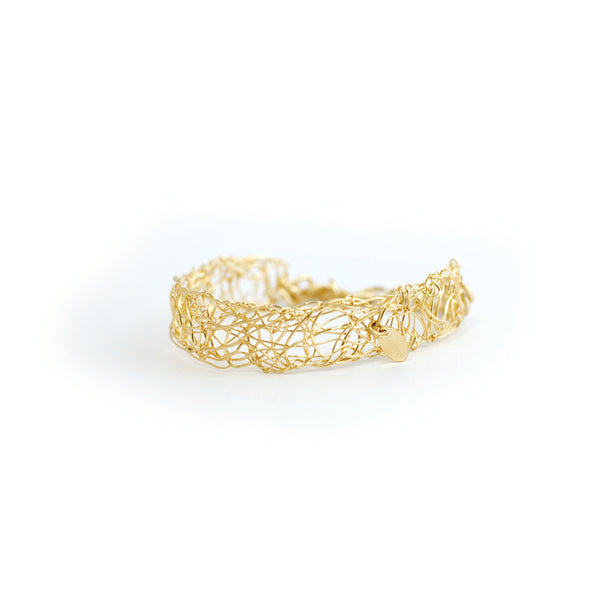 Aura Bracelet (10mm) - Yellow Gold - TARBAY