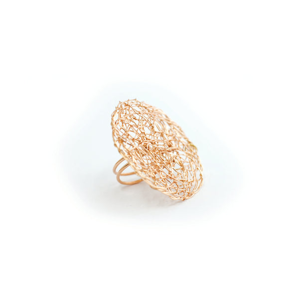 Aura Ring #1 (30mm) - Rose Gold - TARBAY