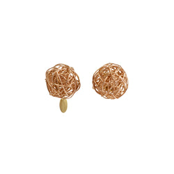 Clementina Earring (12mm) - Rose Gold