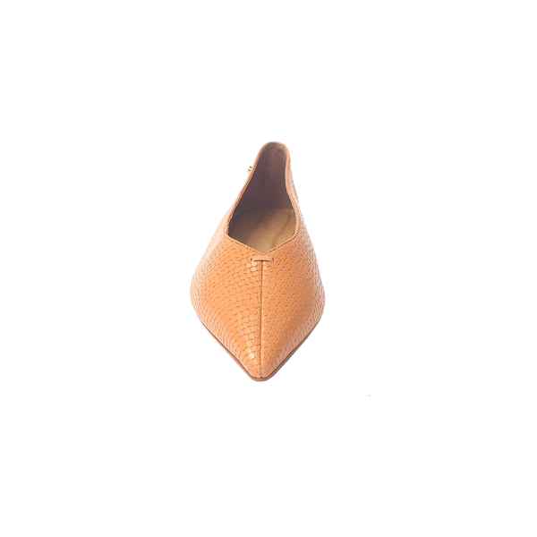 Grove Leather Flat Shoes - Viper Sweet