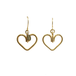Corazon Dangle Earrings (22mm) - TARBAY