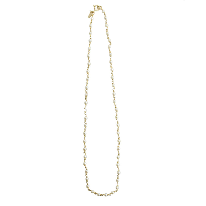Pearl Chain Necklace (4-5mm)