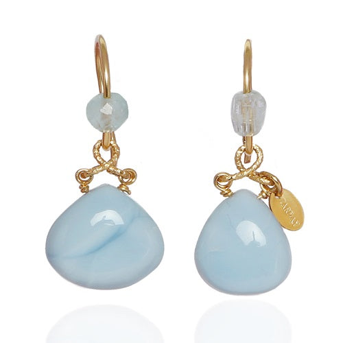 Agua Marina Earrings