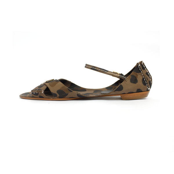 Tajali Leather Sandals - Onca Charcoal